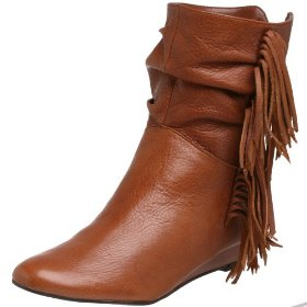 Women's Innka Ankle Boot With Fringes - Steve Madden Boots
