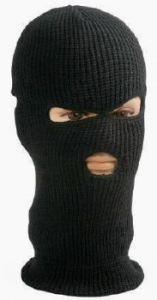Three Hole Balaclava Facemask - Ski Mask