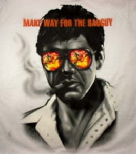 Scarface T-Shirt - Make Way for the Badguy
