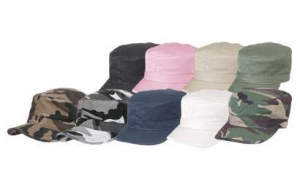 Cotton Army Cap – Vintage Fatigue Hats