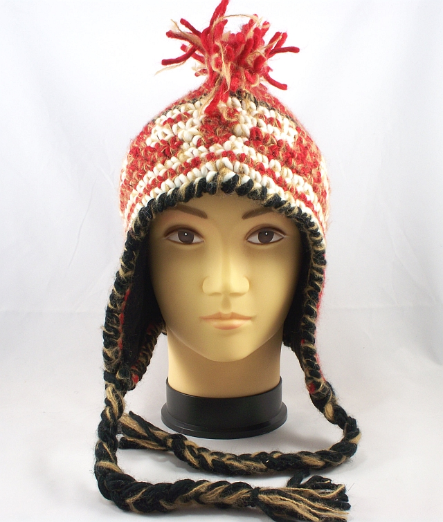 Baby Earflap Hat Pattern Crochet Knit by Angelika