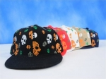 Fitted Skull Hat | Flat Bill Skull Cap