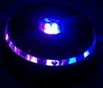 3D Laser Crystal Led Light Base | UFO 4 Led Light Base