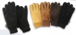Men's Suede Gloves | Insulated Winter Gloves