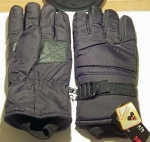 Men's Waterproof Ski Gloves with Fleece Insulation