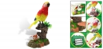 Bird Figurine | Music Singing Parrot | Motion Sound Bird Call
