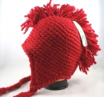 Mohawk Crochet Earflap Hats - Mohawk Winter Hats