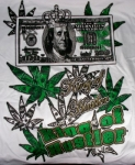 King of Hustler T-Shirt | Marijuana T-Shirts | Hip Hop Shirts