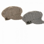 Women's Houndstooth Newsboy Cap - Apple Jack Hat