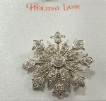 Snowflake Brooch - Snow Flake Pin