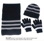 Winter Set - Winter Hat Scarf Gloves Sets