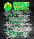 Weed T-Shirt | Green Leaf Ganja Shirt