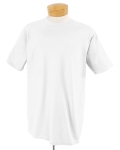 Plain White T-Shirt - Crew Neck Collar Cotton T-Shirts